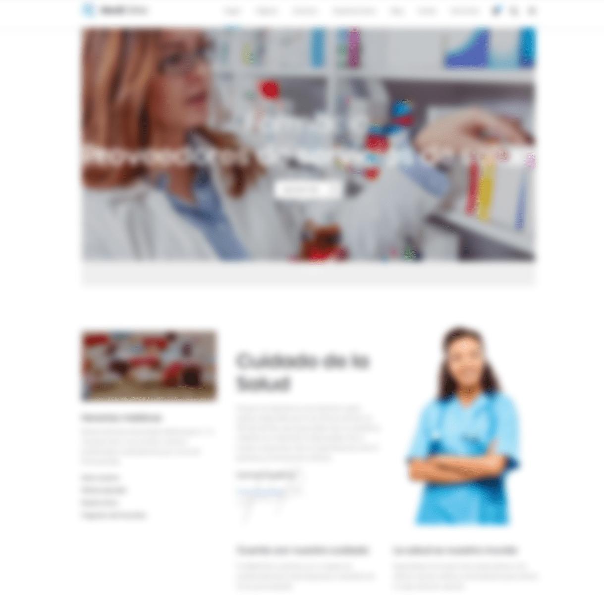 página web farmacias
