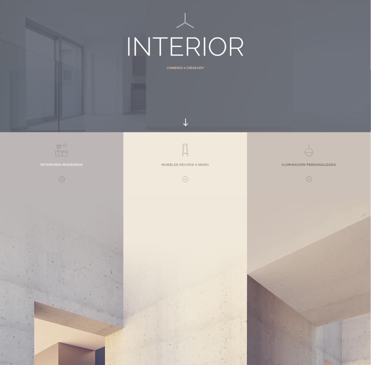 página web arquitecto