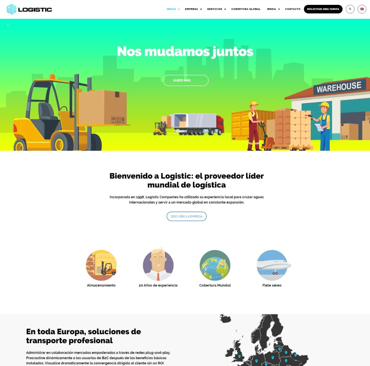 página web mudanzas