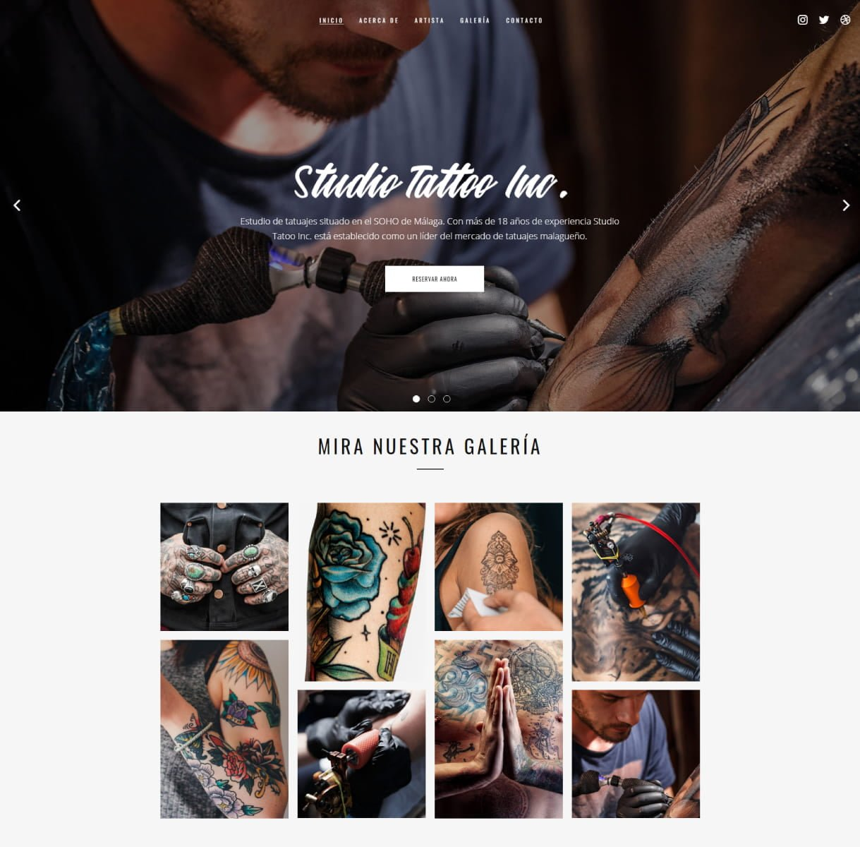 página web tatuadores